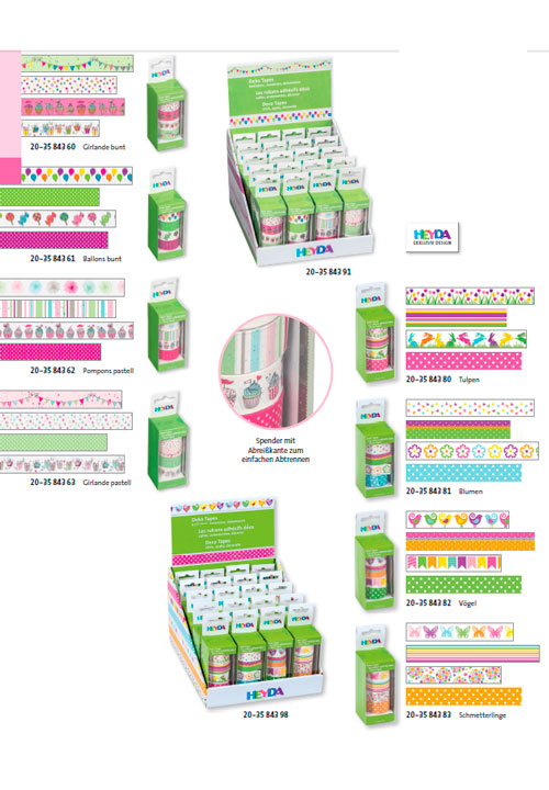 deco tapes washi tape